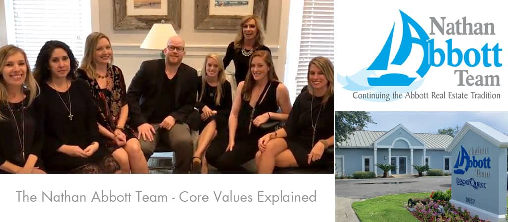 Nathan Abbott Team Core Values