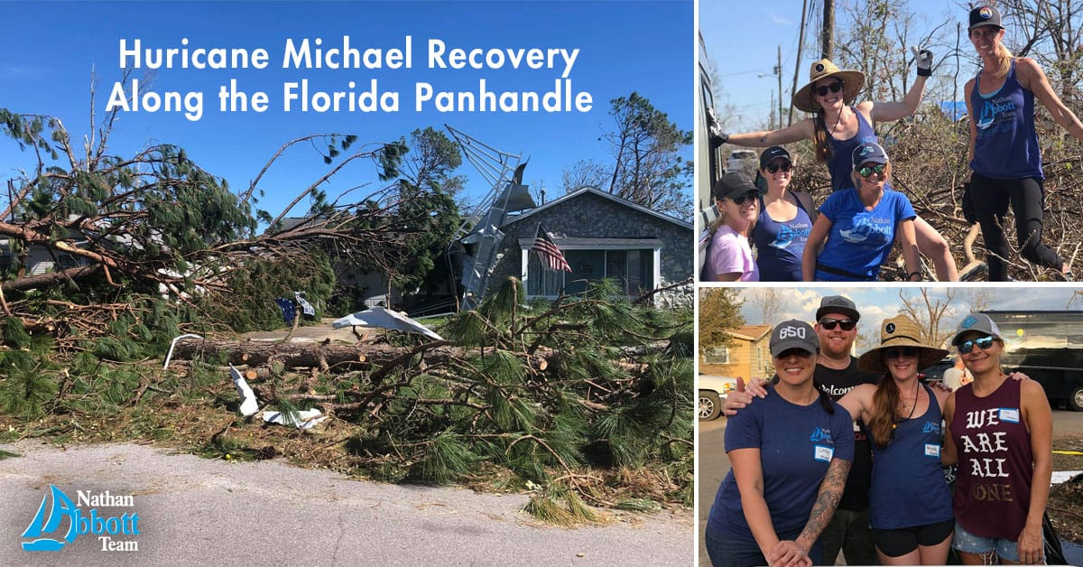 Hurricane Michael recovery Panama City Beach Florida