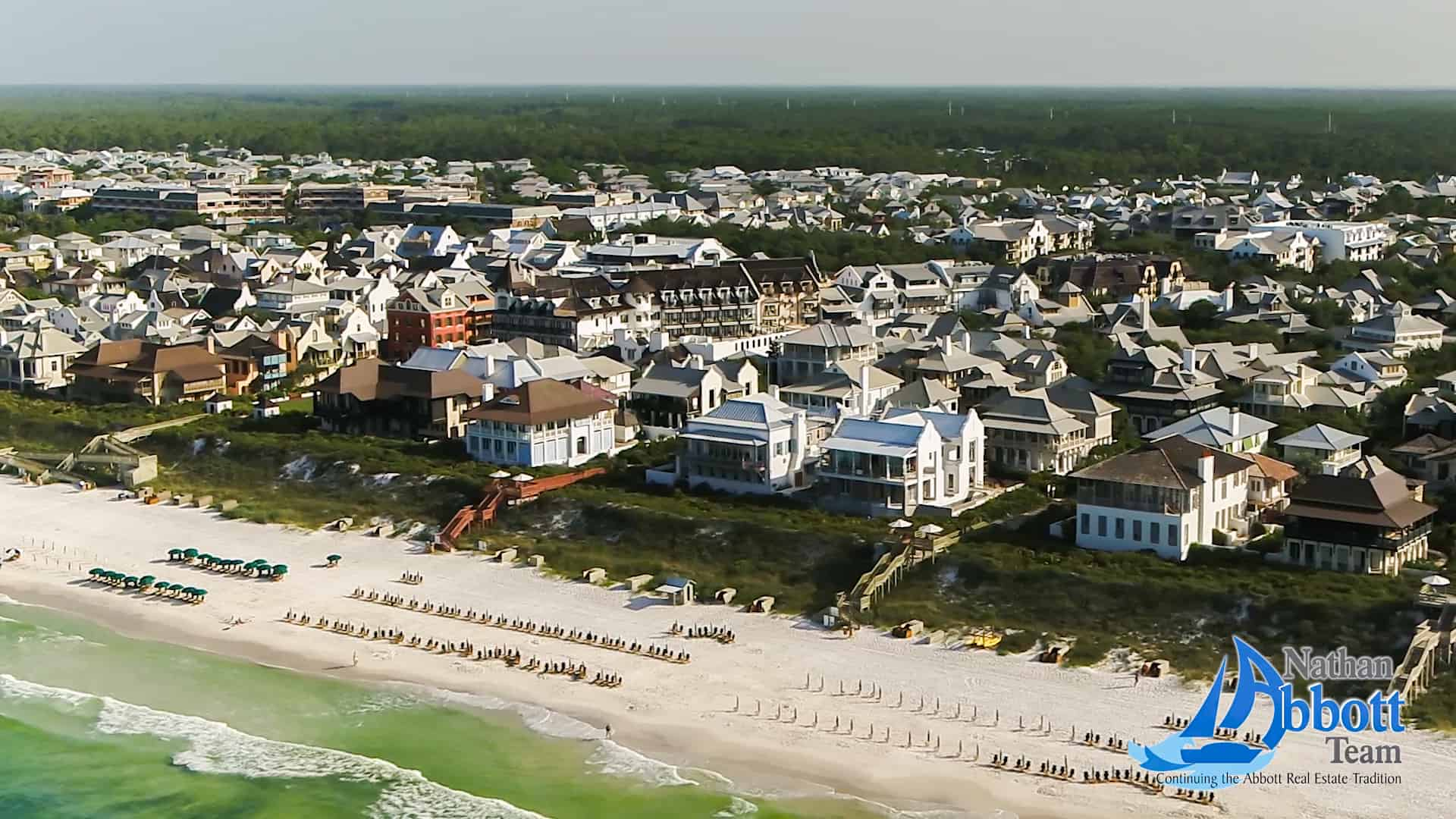 Alys Beach and Rosemary Beach Aerial Tour