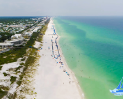 Northwest Florida from Crystal Beach to Rosemary Beach Aerial Tour