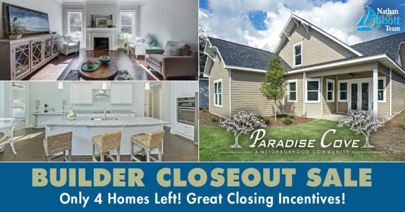 Paradise Cove closeout sale