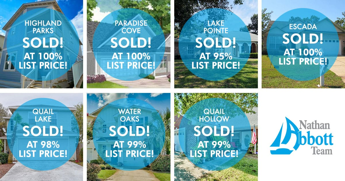 September Sold Homes from the Nathan Abbott Team
