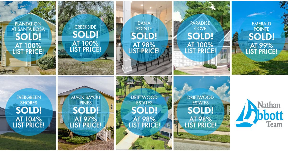 Nathan Abbott Team Homes Sold in October 2019
